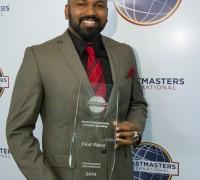 World Champion of Public Speaking 2014